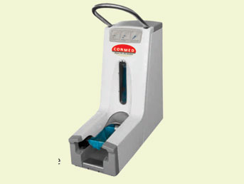 Shoe Cover Machine, Shoe Cover Dispenser, Importers/supplier/manufacturers for shoe cover dispenser, Mechanical shoe cover dispenser,
